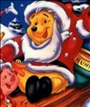 Arrange the Pieces Pooh Santa