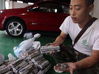 comprar coche con 300 kilos monedas