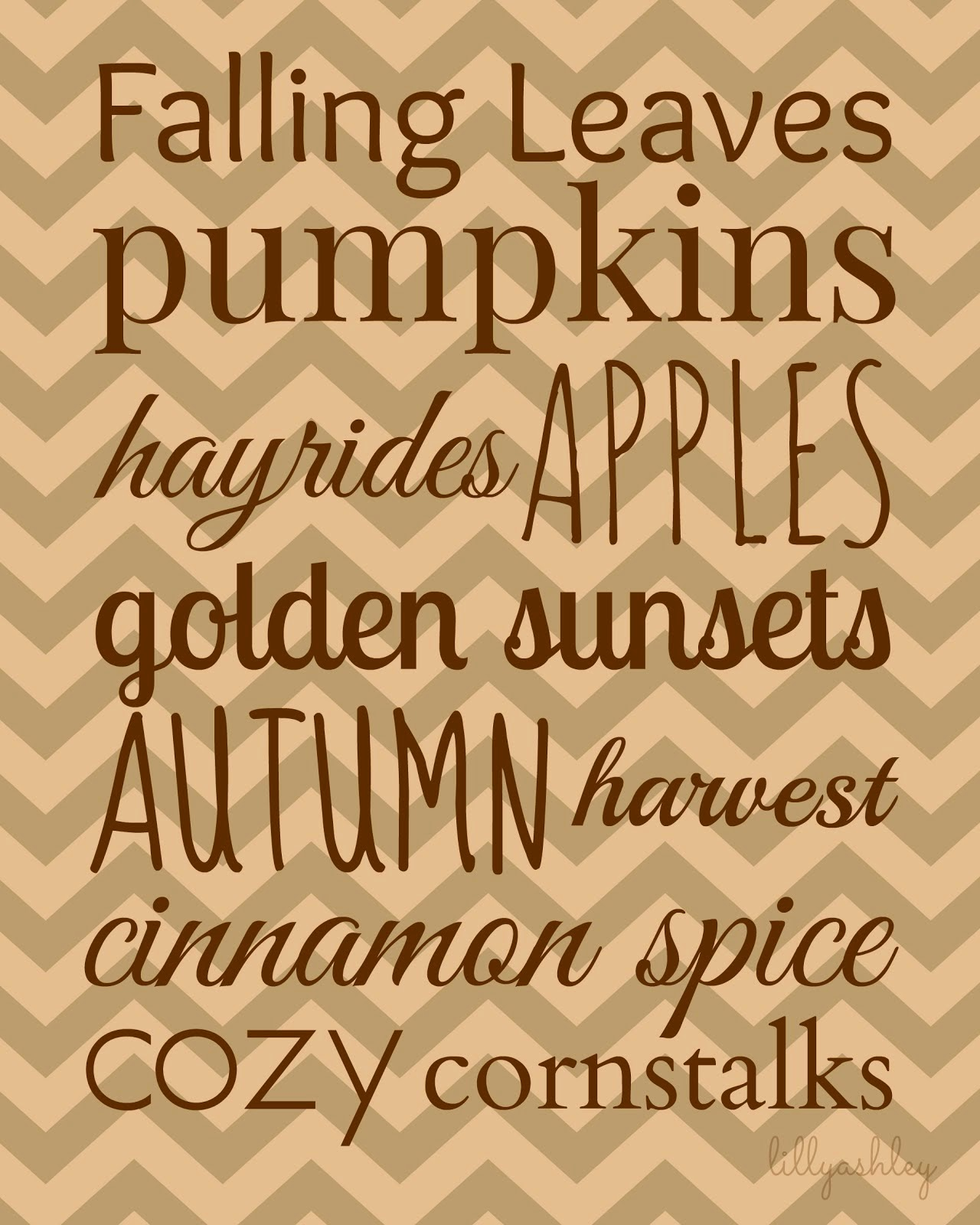 Happy Fall, Y'all!