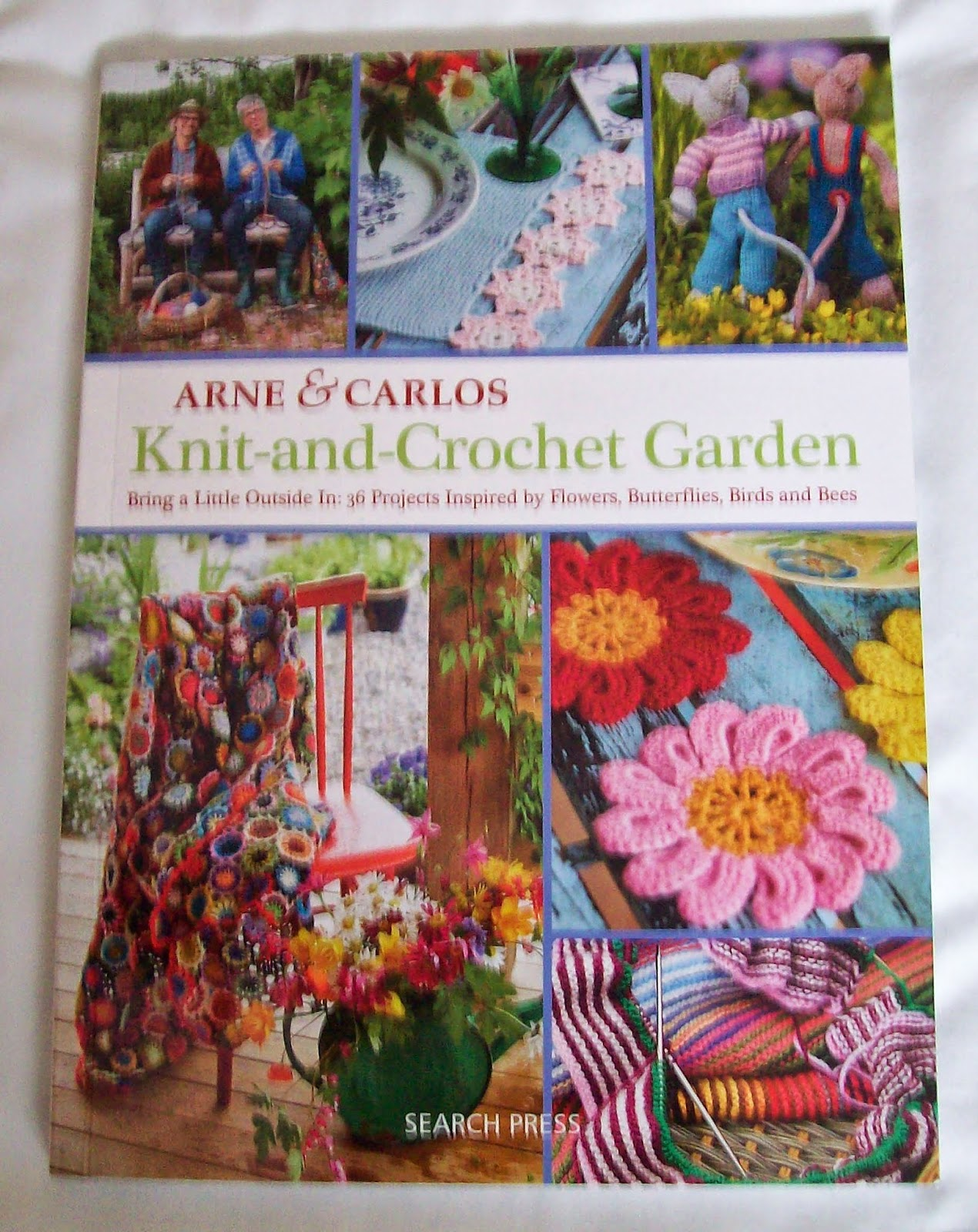 Knitting And Crochet Books : Sewing is for girls: Book Review: Knit and Crochet Garden by Arne ...