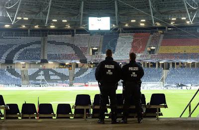 Hannover, Németország, merénylet, terrorizmus, labdarúgás,