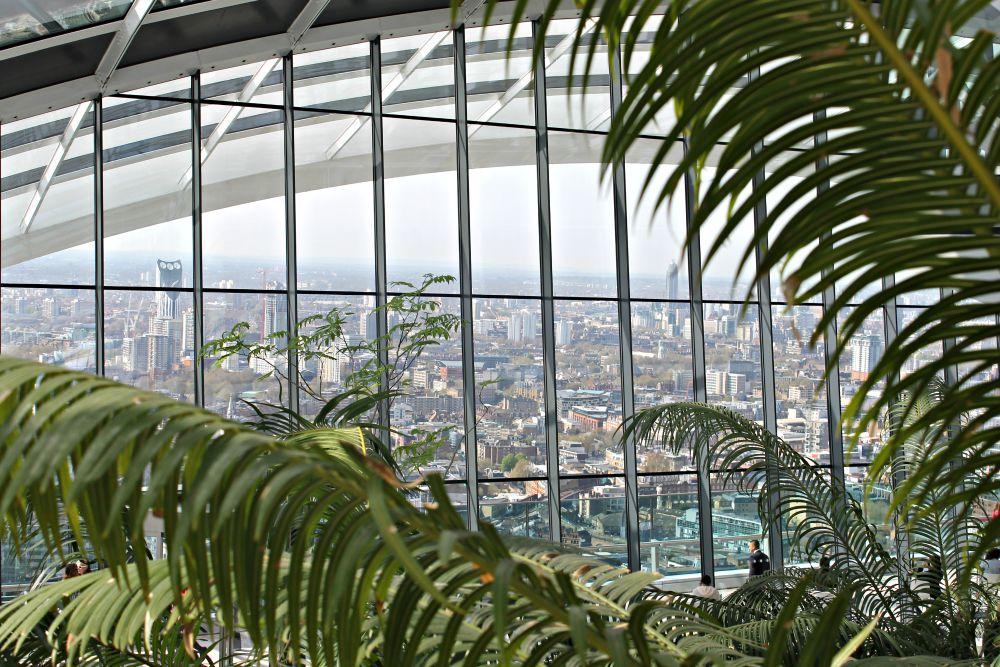 Sky Garden Londen uitzicht