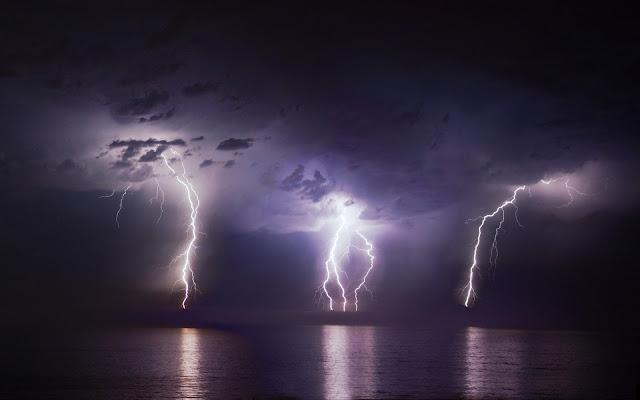 Three Lightnings