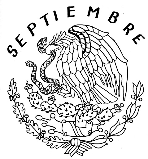 15 de septiembre mexico para colorear - Imagui
