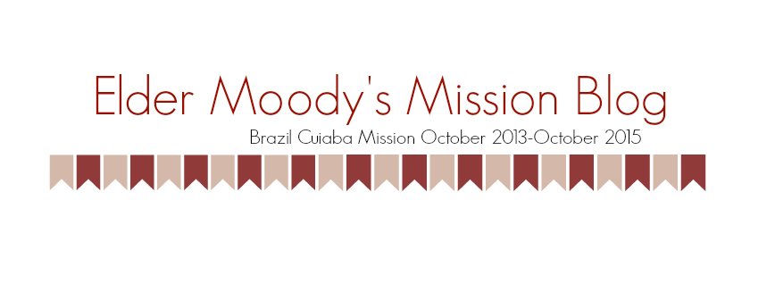 Elder Moody's Mission Blog