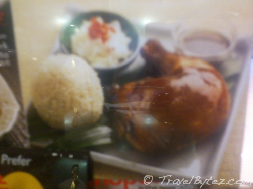 Chicken Rice Promotion Display