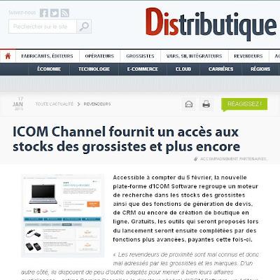 Testez ICOM Channel, l'outil que les revendeurs IT attendaient !