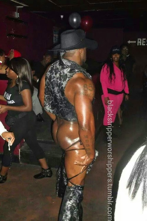 Black male strippers has
