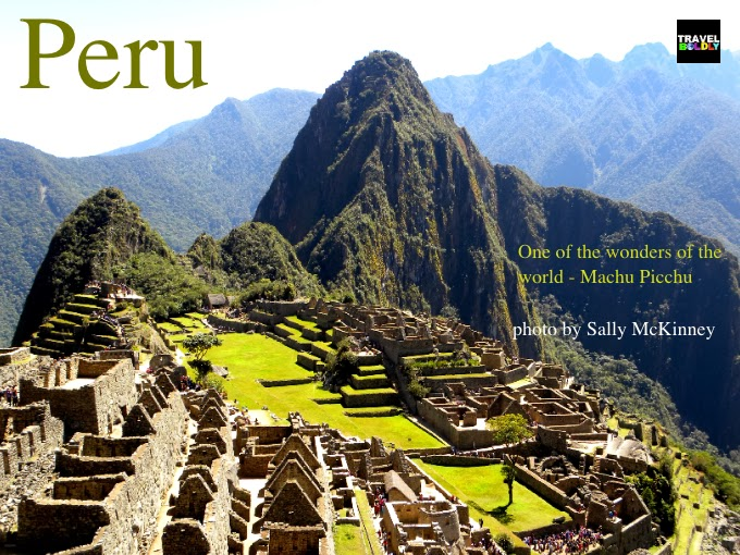 Machu Picchu Incan Ruins Peru. Photo Sally McKinney for TravelBoldly.com