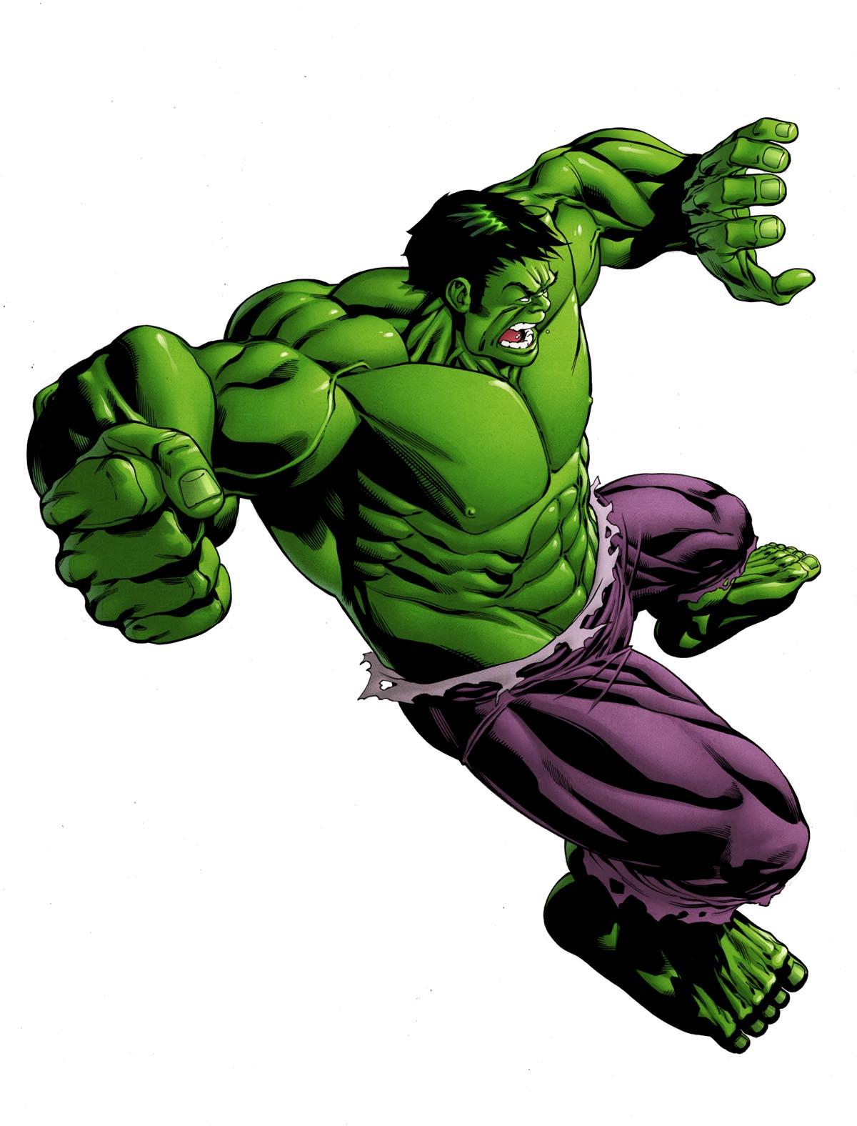 Hulk Color and variants...   Robert Atkins Art