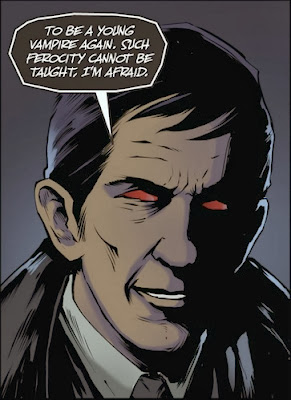 Possessed Barnabas Collins by Nacho Tenorio from Dark Shadows #21