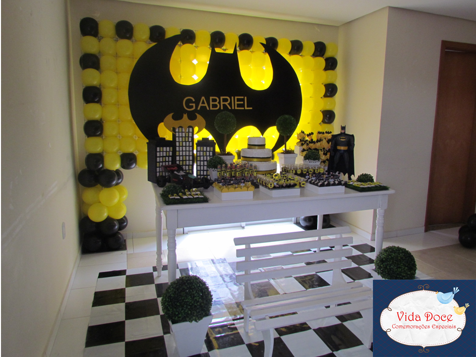 decoracao festa batman : decoracao festa batman:Festa+clean+do+Batman,+festa+do+batman,+Batman+(1).PNG
