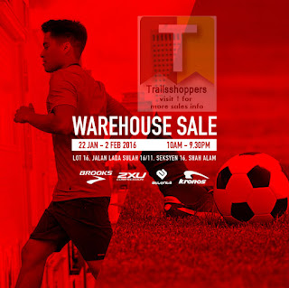 Brooks Malaysia Warehouse Sale
