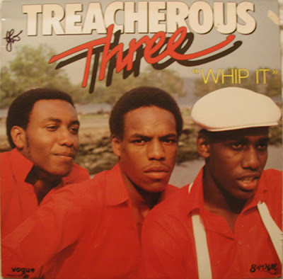 Treacherous Three ‎– Whip It (Vinyl) (1983) (192 kbps)