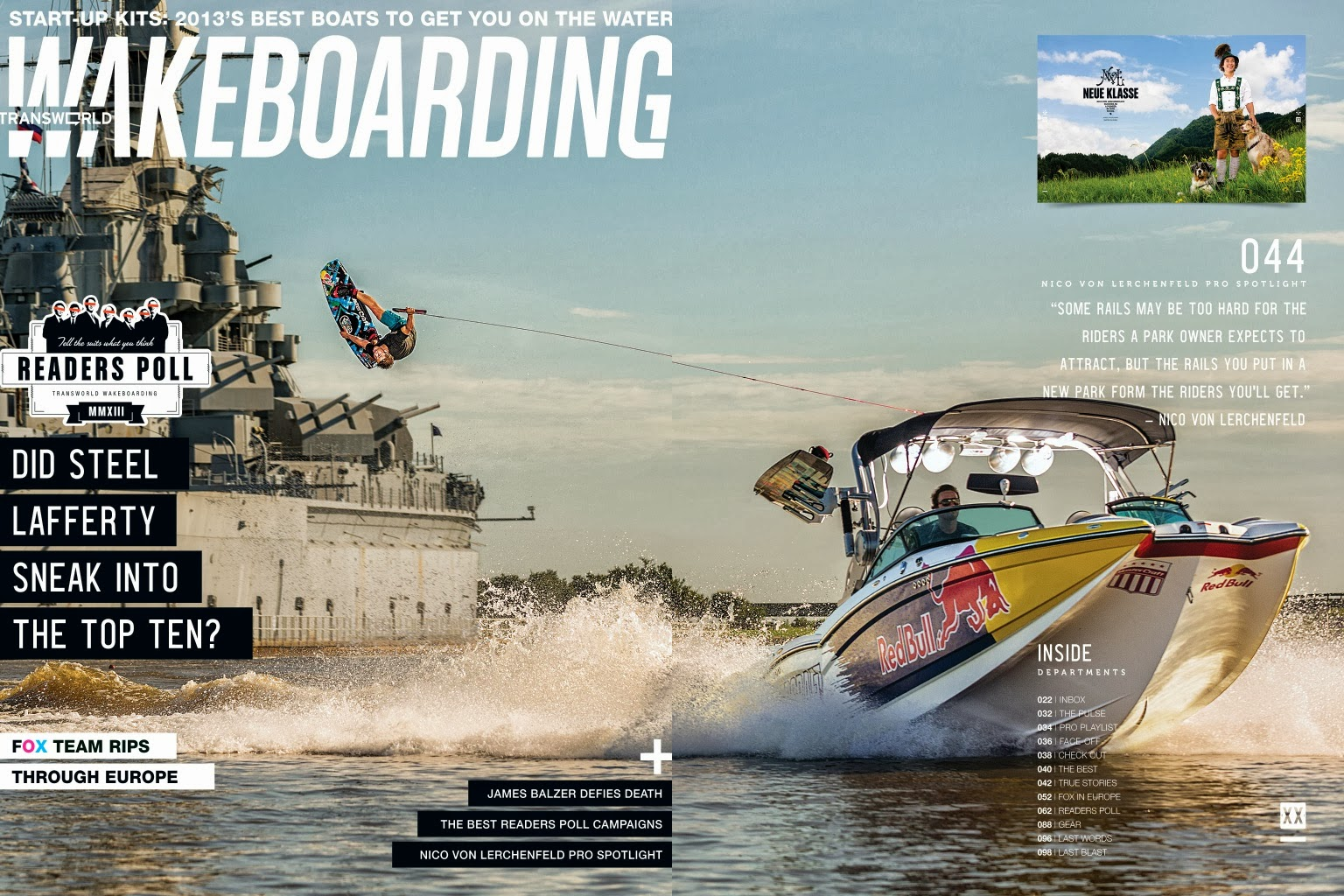 transworld wakeboarding cover behind the scenes and video