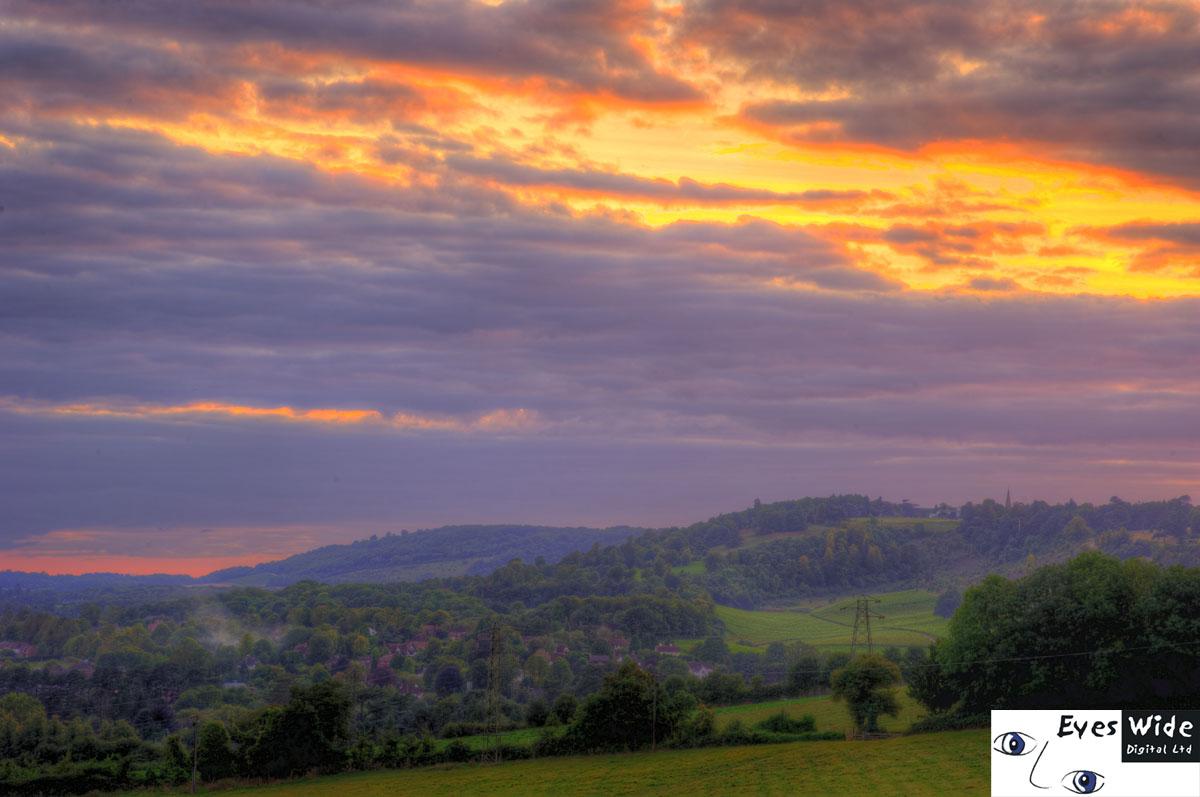 Elegant Surrey Hills Box Hill Sunset Dorking