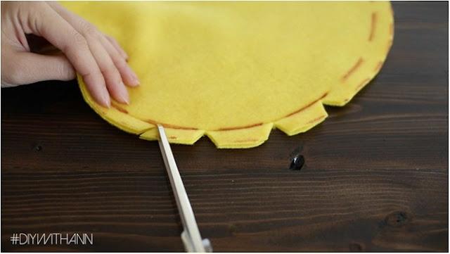 el yapımı yastık hazırlama