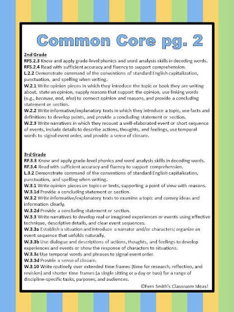 common core assignments