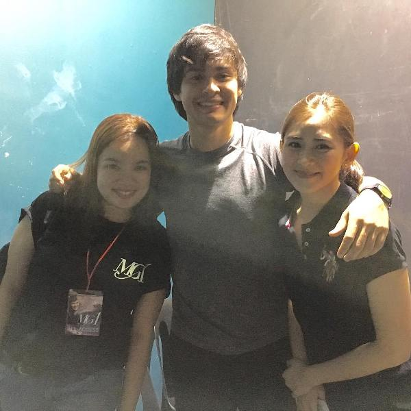Spotted: Sarah Geronimo at Matteo Guidicelli's MG Concert