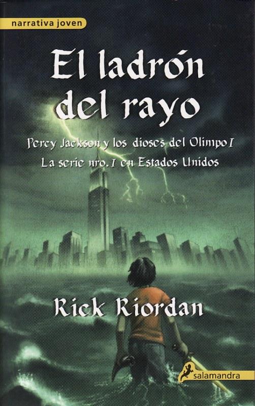 El%2BLadr%25C3%25B3n%2Bdel%2BRayo El Ladrón del Rayo   Rick Riordan