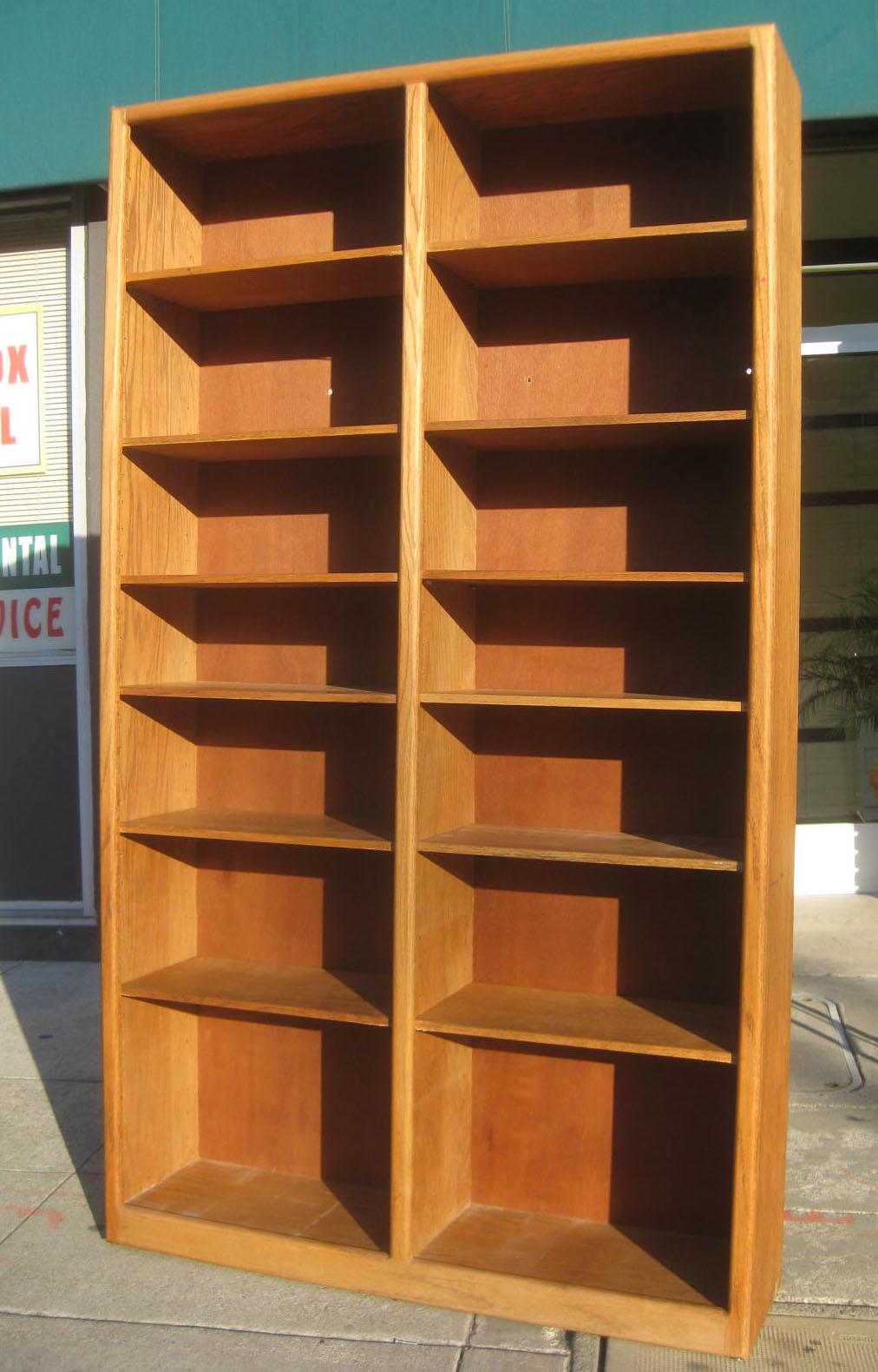 SOLD - Tall Double Bookshelf - $85