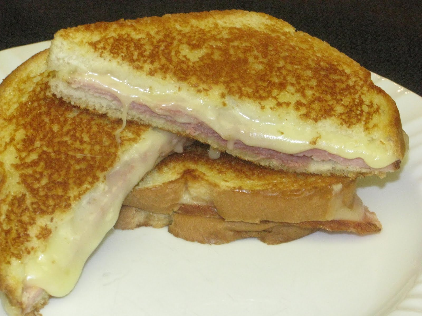 Grilled Ham And Cheese Sandwich Recipe Grilled ham and cheese