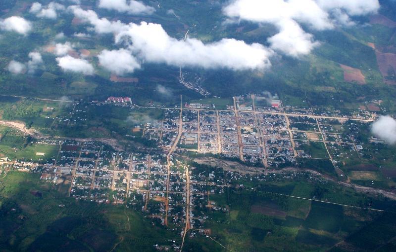 Vista aérea - Pangoa