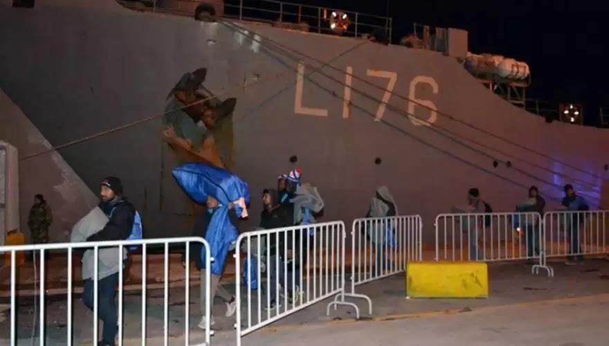 Πρωτοφανές φιάσκο με το αρματαγωγό «Λέσβος»: Αφού το επιθεώρησαν οι αλλοδαποί μετά αποχώρησαν γιατί δεν το βρήκαν κατάλληλο!