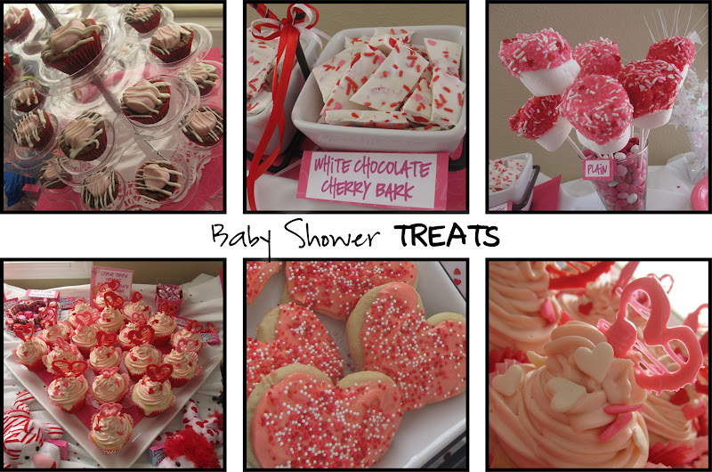 MOMS CRAZY COOKING: Pinkest Baby Shower: Other Goodies & Dessert Bar