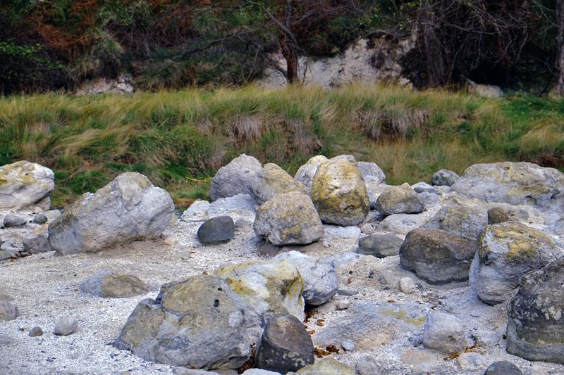 Cascata della Diosilla, greto del torrente