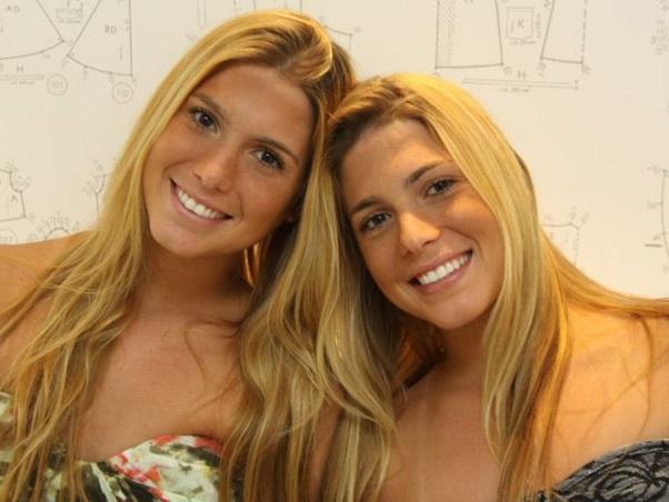 Gêmeas do nado sincronizado