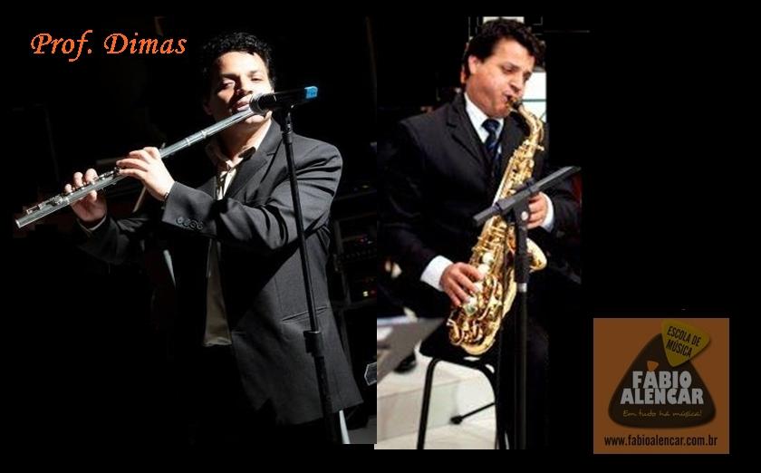 Professor Dimas  aulas de Saxofone , Flauta Transversal e Teoria Musical