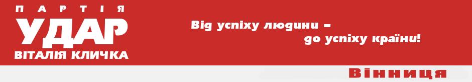 Вінницька обласна організація партії УДАР