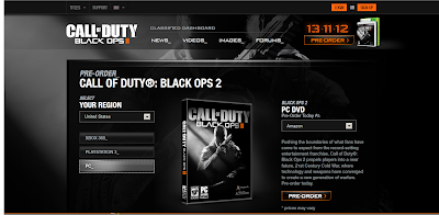 PC box art black Ops 2