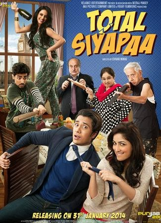 New Hindi Full Movie Total Siyapaa 2014 DVDScr Watch Online For Free Download