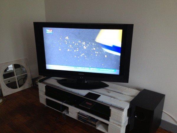 Fabriquer Un Meuble Tv Avec Palette – Artzein.Com
