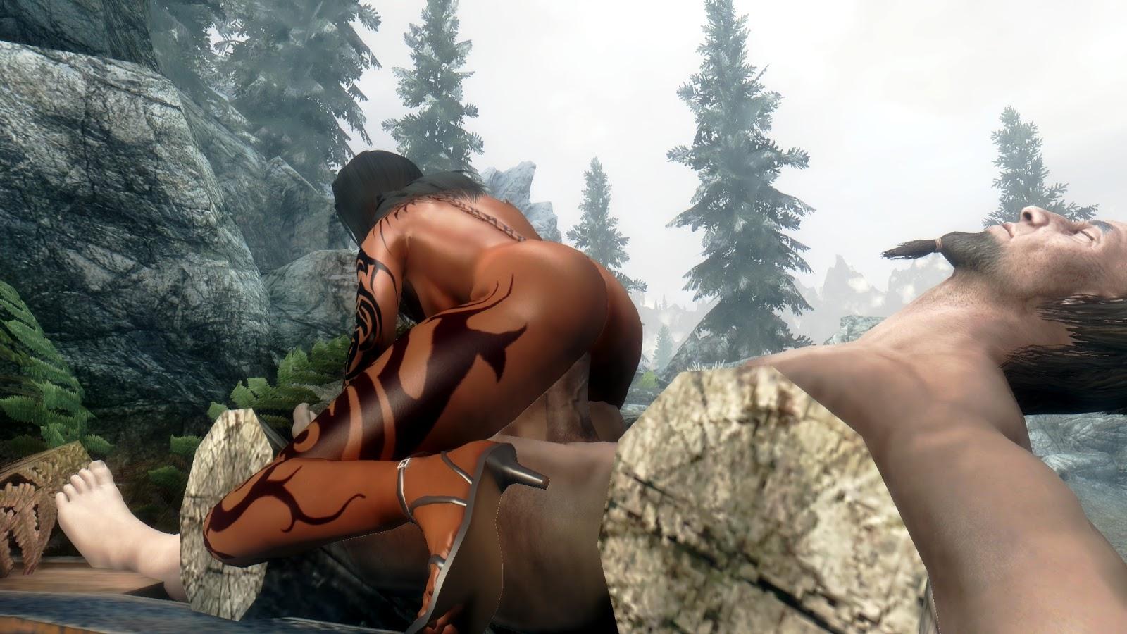 Nude skyrim male xxx videos