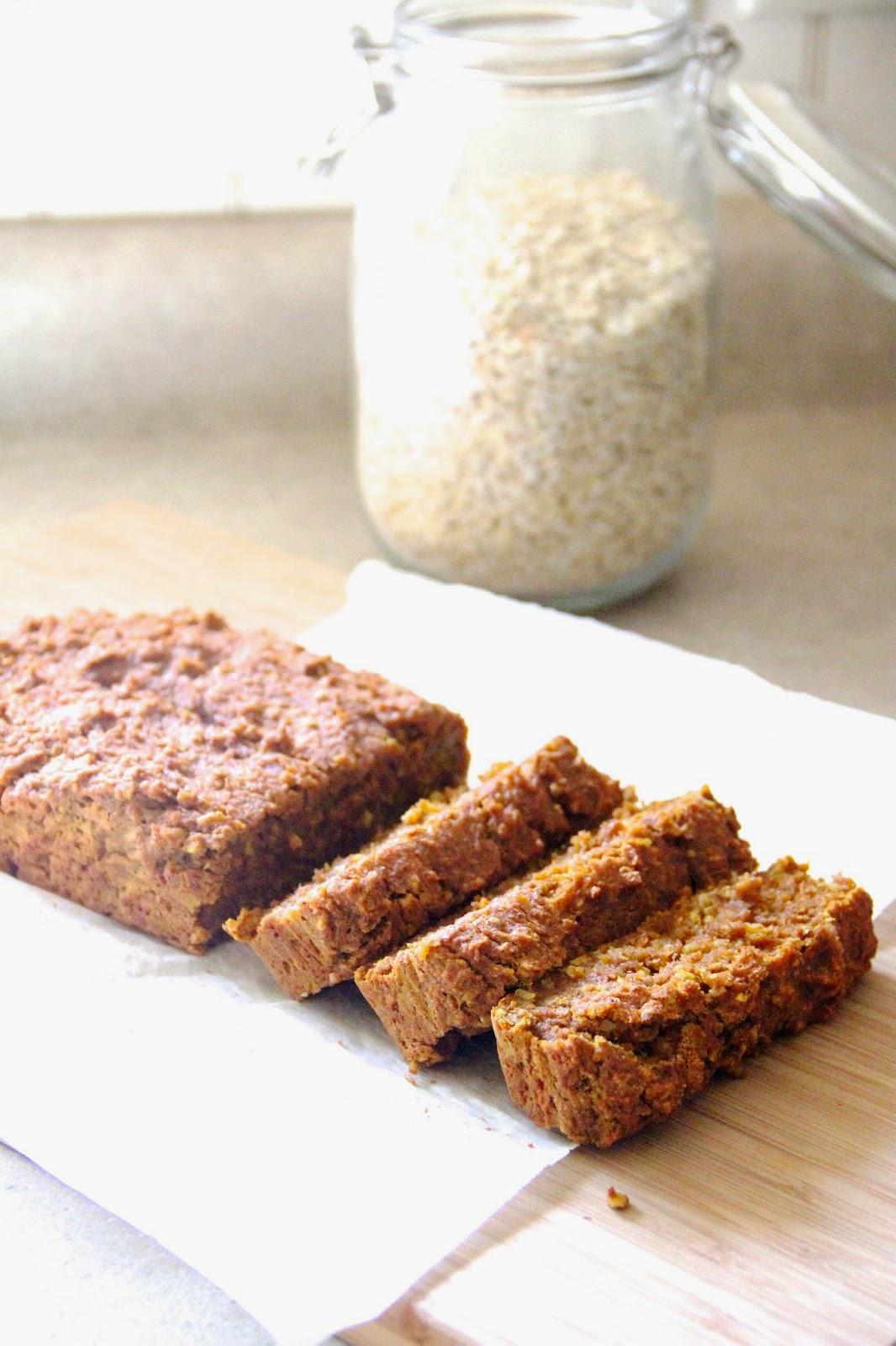 My Happy Place: pumpkin oatmeal bread
