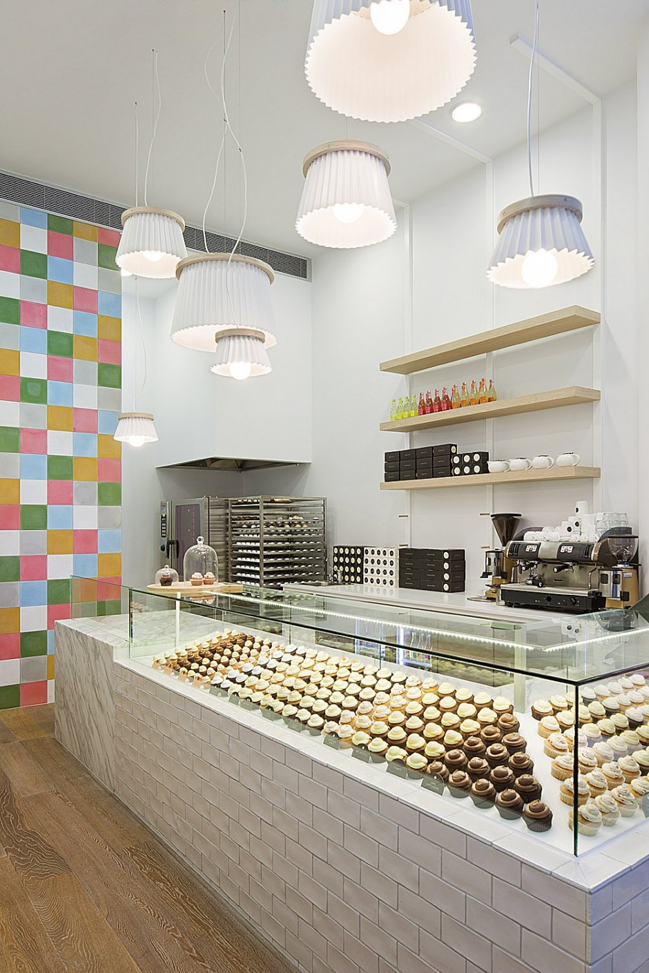 Cupcakes Shop Interior Design
