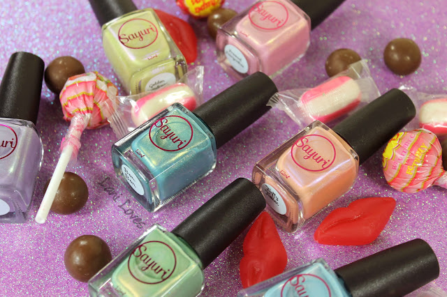 Sayuri Nail Lacquer Sweet Tooth Collection Swatches & Review