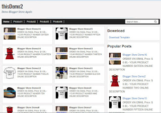 blogger store template thisdemo2