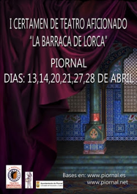 """I Certamen de Teatro aficionado """"La Barraca de Lorca"""""""
