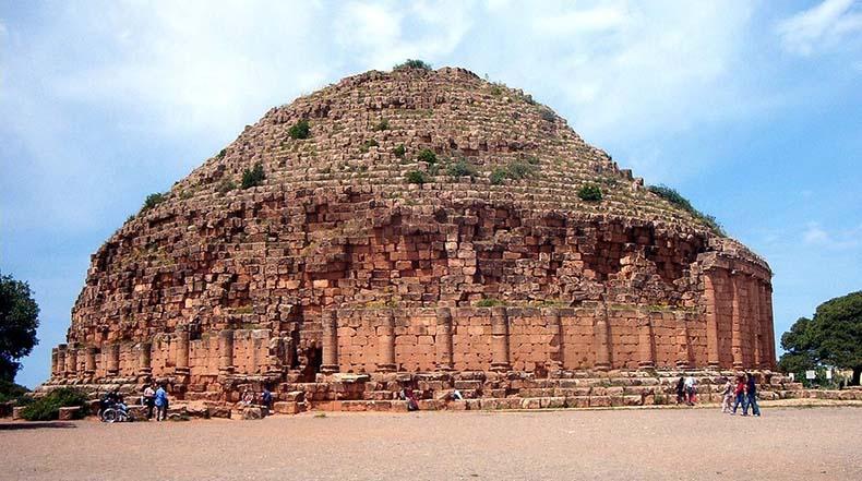 El mausoleo real de Mauritania