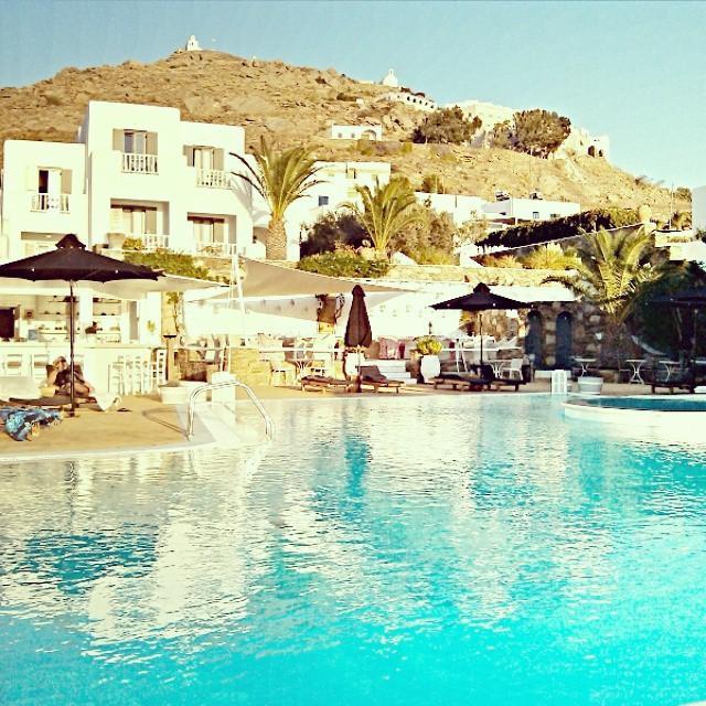 Instagram @lelazivanovic Ios Greece. Liostasi hotel & spa, swimming pool.