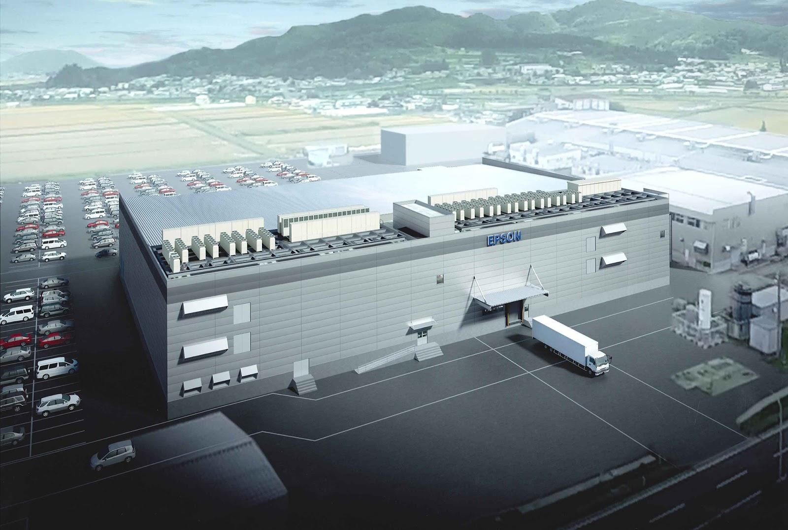 Akita Epson New Printhead Factory