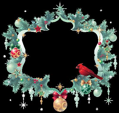 marco de fotografia navideño
