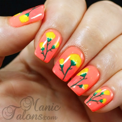 Bright One Stroke Flowers