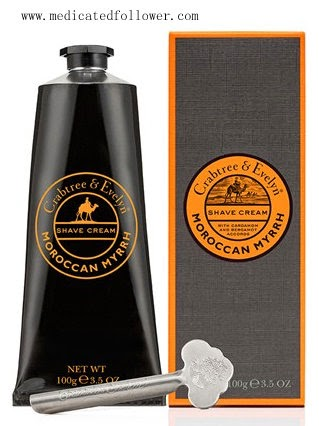 Crabtree and Evelyn Shaving Cream, Father's Day ideas