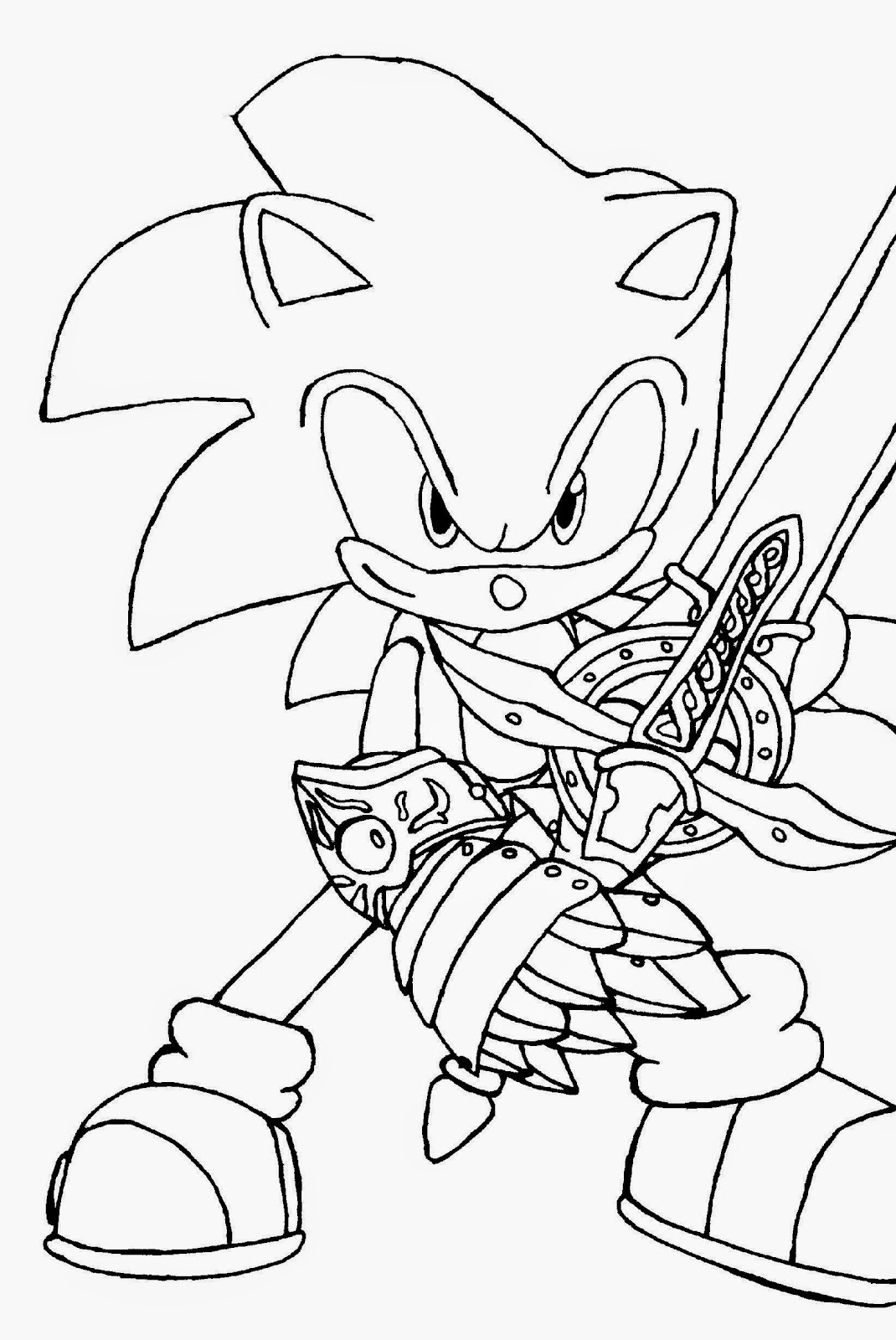 free printable sonic the hedgehog coloring pages sonic coloring sheets free coloring sheet