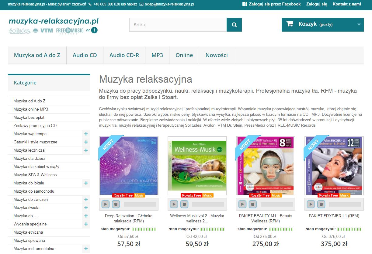 Muzyka-relaksacyjna.pl